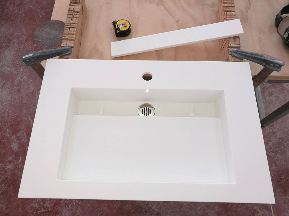 JIJ Solid Surface lavabo moderno
